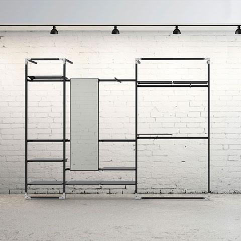 52d5e4a5d Móveis planejados para loja de roupas - Wiring